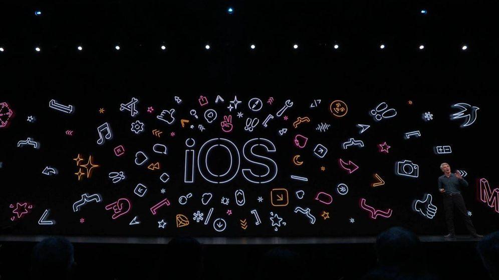 Foto: Presentación del iOS 13. (El Confidencial)