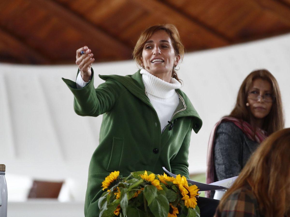 Foto: La candidata de Más Madrid, Mónica García. (EFE)