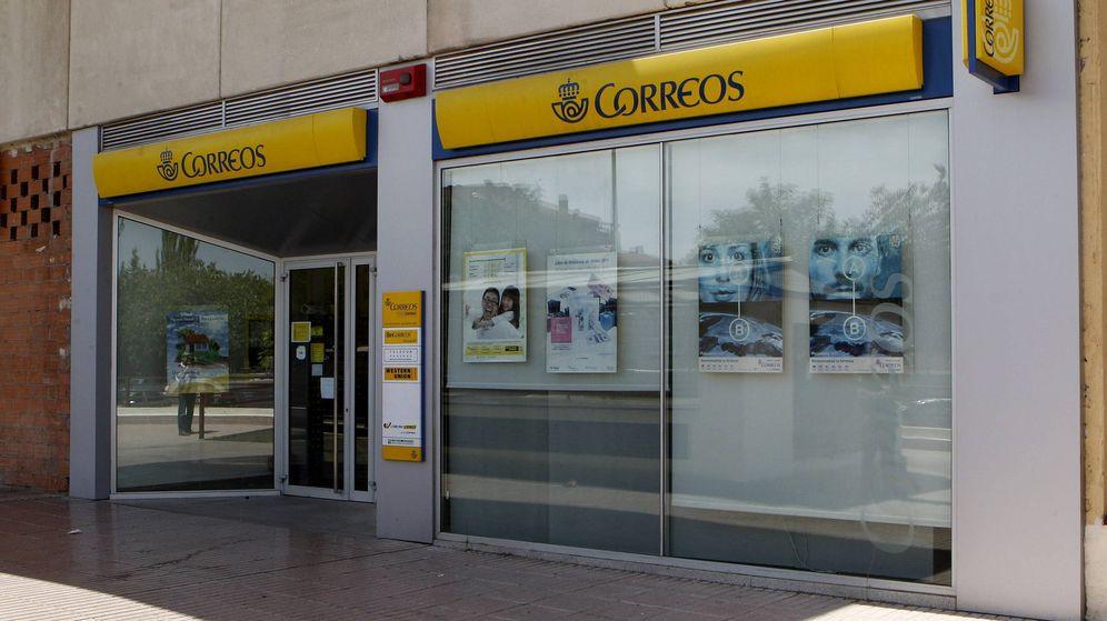Foto: Exterior de una oficina de Correos. (EFE)