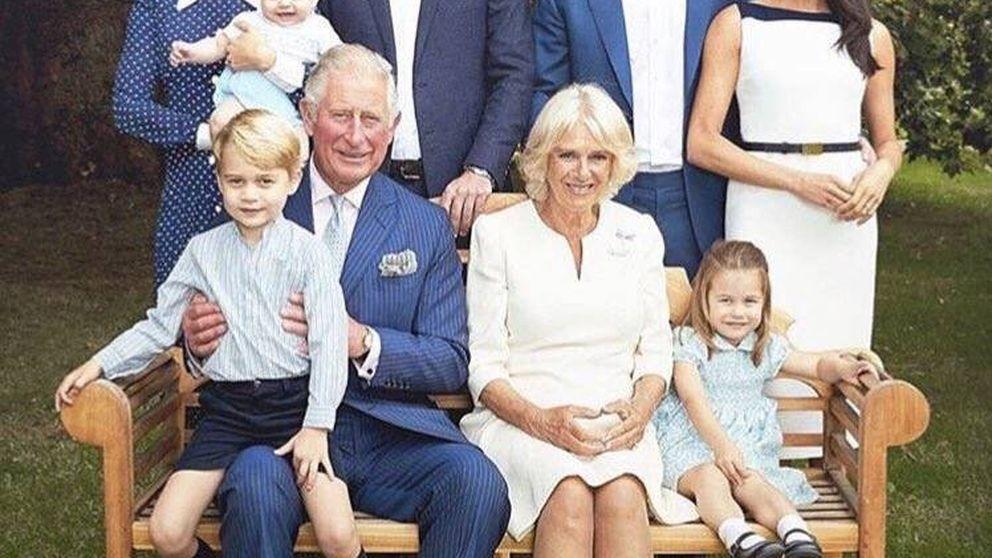 Se filtran las fotos más tiernas y familiares del príncipe Carlos