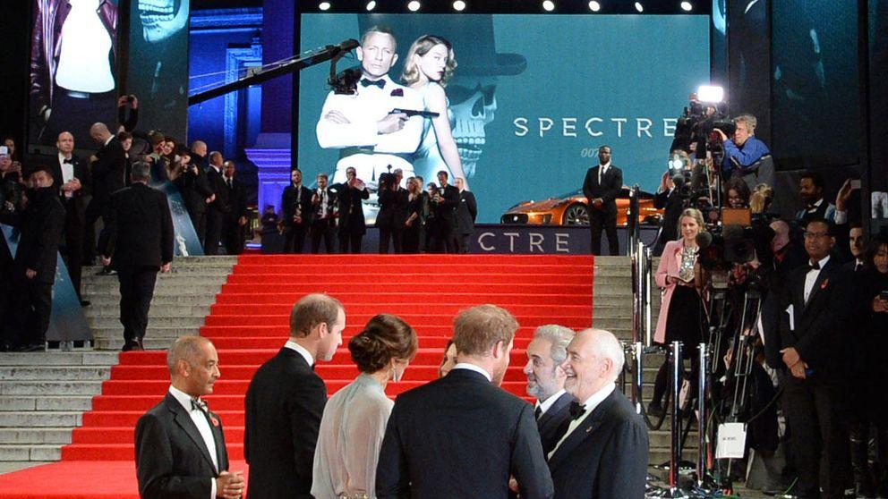 Los duques de Cambridge y el príncipe Harry hacen sombra al mismísimo James Bond