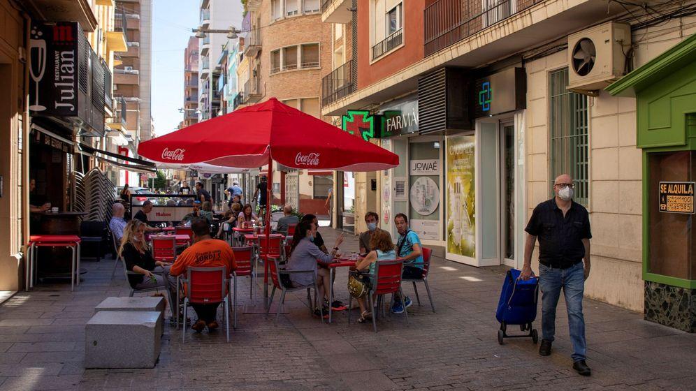 Foto: Lleida este sábado. (EFE)