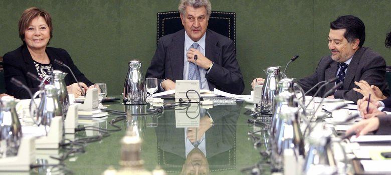 Foto: Reunión de la junta de portavoces del Congreso de los Diputados (EFE)