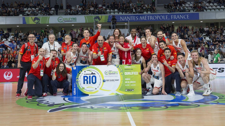 Foto: España regresa a unos Juegos ocho años después (Foto: AlbertoNevado/FEB)