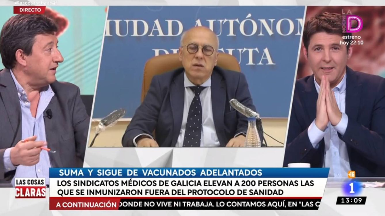 El zasca de Jesús Cintora al consejero de Ceuta que ha dimitido: Esta me la pido