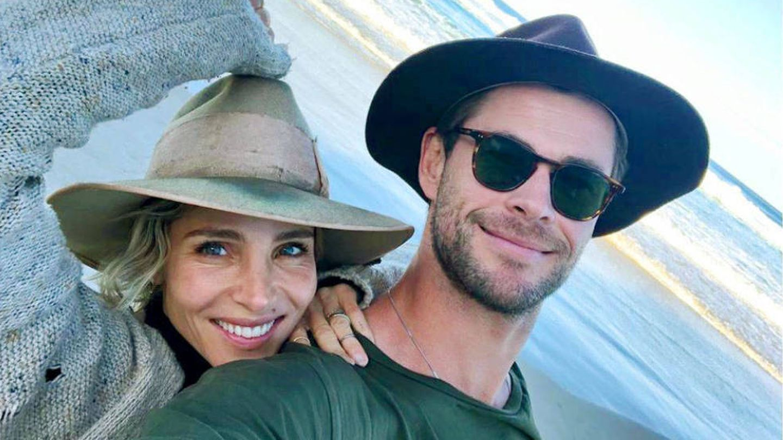 Elsa Pataky, junto a su marido, Chris Hemsworth. (@elsapatakyconfidential)