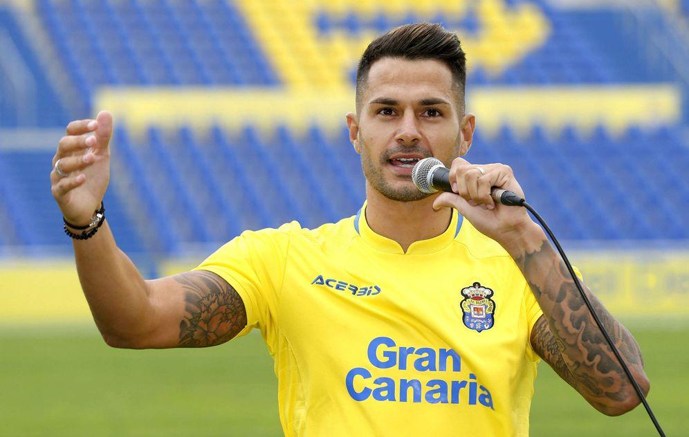 Foto: Vitolo jugará en Las Palmas hasta enero. (EFE)