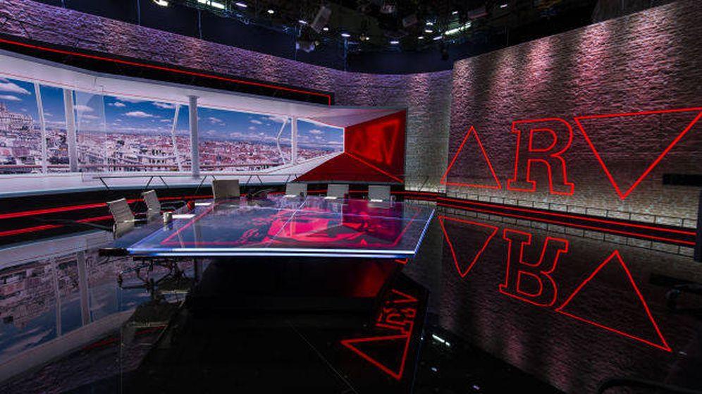 Foto: Plató de 'Al rojo vivo'. (Atresmedia)