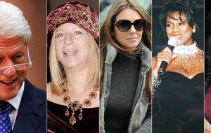 Las otras cuatro mujeres del expresidente Clinton