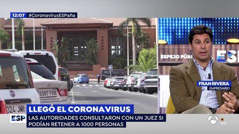 Críticas a Fran Rivera por sembrar el terror sobre el coronavirus