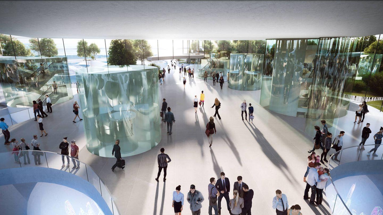 Conceptualmente el edificio representa la diversidad de este siglo. (Sou Fujimoto Architects)