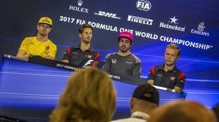 El pique de Alonso y Magnussen, o por qué la F1 también es cuestión de testosterona