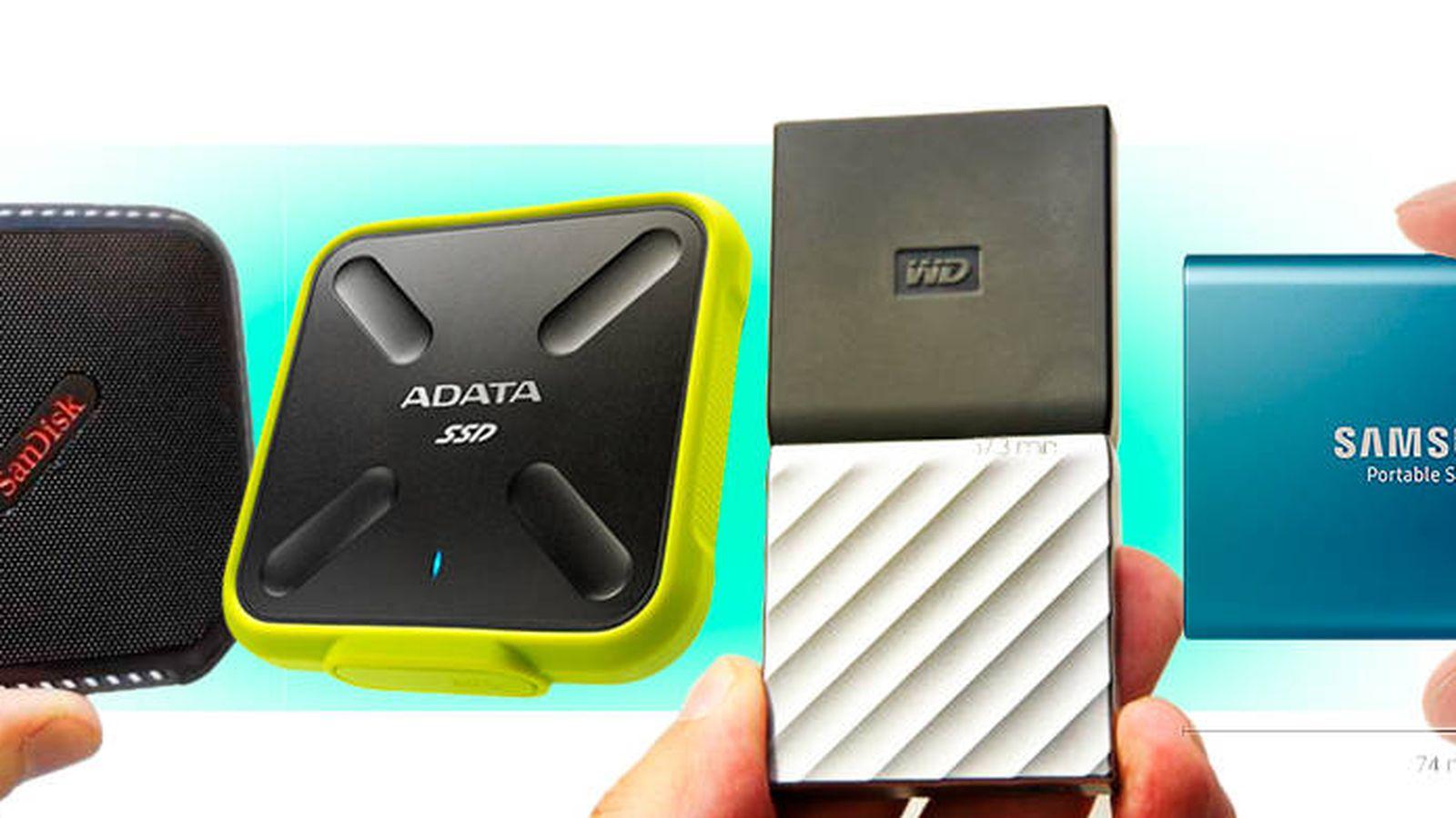 Foto: Algunas de las mejores memorias SSD externas. (EC)