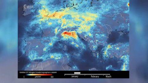 Los satélites confirman que el Covid-19 está reduciendo la contaminación