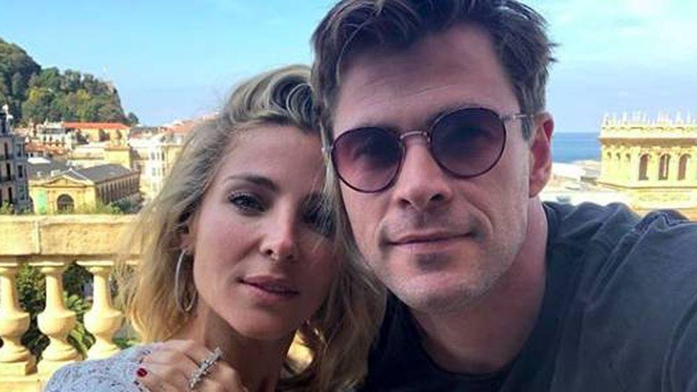 Foto: La pareja en una foto de redes. (Instagram @elsapatakyconfidential)