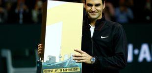 Post de Federer arrebata el trono a Nadal: es el número 1 más veterano de la historia