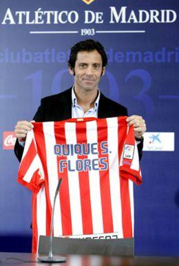 Foto: Quique Flores: Tengo que estar a la altura de la historia del Atlético