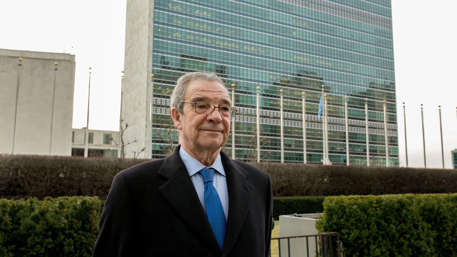 Foto: El expresidente de Telefónica, César Alierta (Efe)