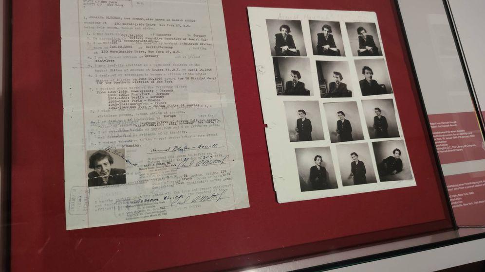 Foto: Exposición 'Hannah Arendt y el siglo XX', en el Museo de Historia Alemana, Berlín. (B. Becerra)