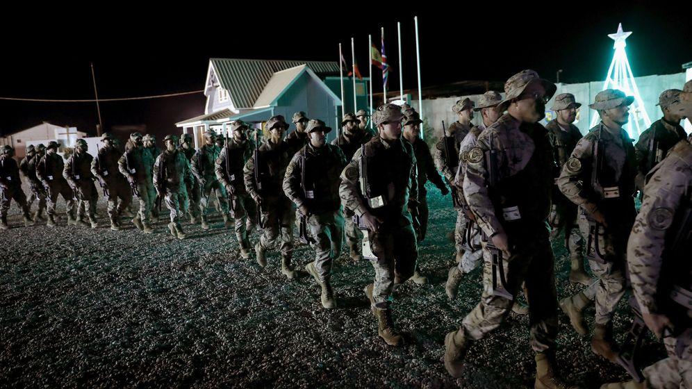 Foto: Soldados españoles en Irak. (EFE)
