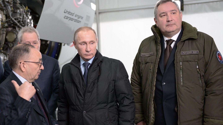 Putin y Rogozin