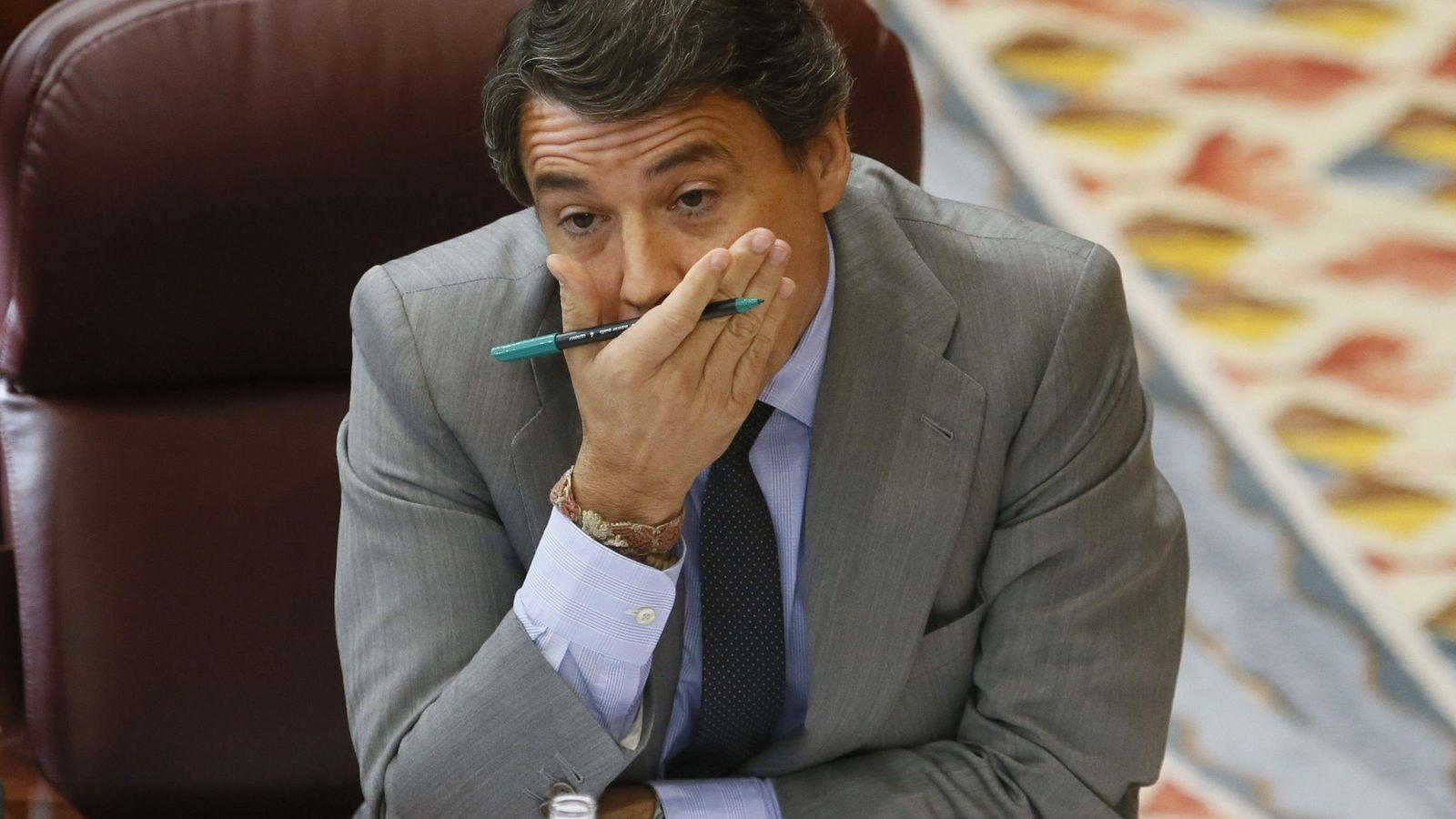 Foto: El presidente de la Comunidad de Madrid, Ignacio González, durante un pleno ordinario en la Asamblea de Madrid. EFE/JuanJo Martín