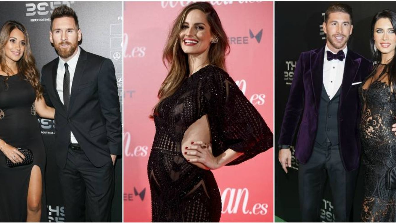 Ariadne Artiles, Pilar Rubio y Antonella Roccuzzo sacan la cara sexy del embarazo