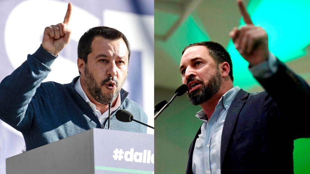 El lugar de Vox en el bloque euroescéptico que diseña Salvini
