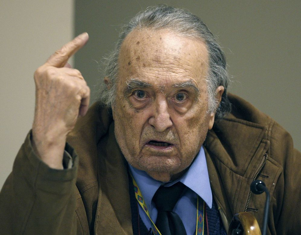 Foto: Rafael Sánchez Ferlosio. (EFE)