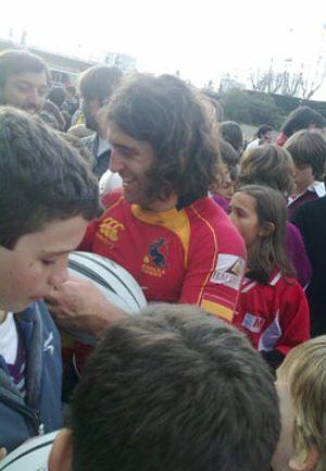 Carlos Blanco, el australiano que viajó a España para ser gallego y jugar al rugby