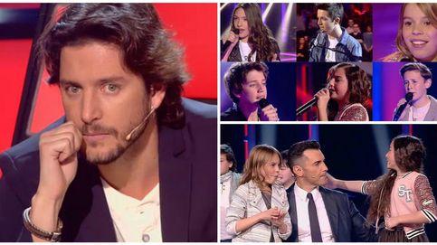 'La Voz Kids' - Bisbal, Rosario y Carrasco sufren más que nunca en la semifinal