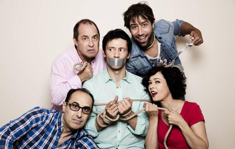 Foto: 'El secuestro' se ríe de la crisis en el teatro (Nani Gutiérrez)