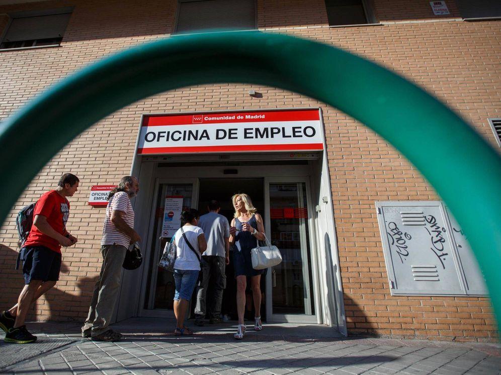 Foto: Una oficina del paro en Madrid. (Reuters)