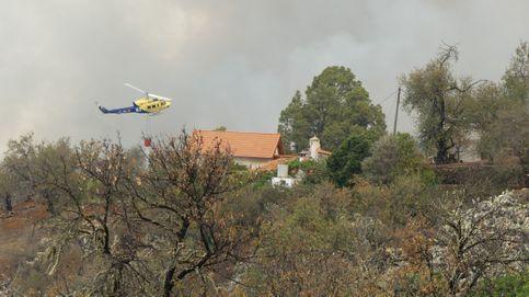 El incendio de La Palma (Garafía) se encuentra ya sin llamas pero con humo