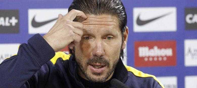 """Simeone lo tiene claro: """"Todo lo que se pague por quedarnos con Courtois es barato"""""""