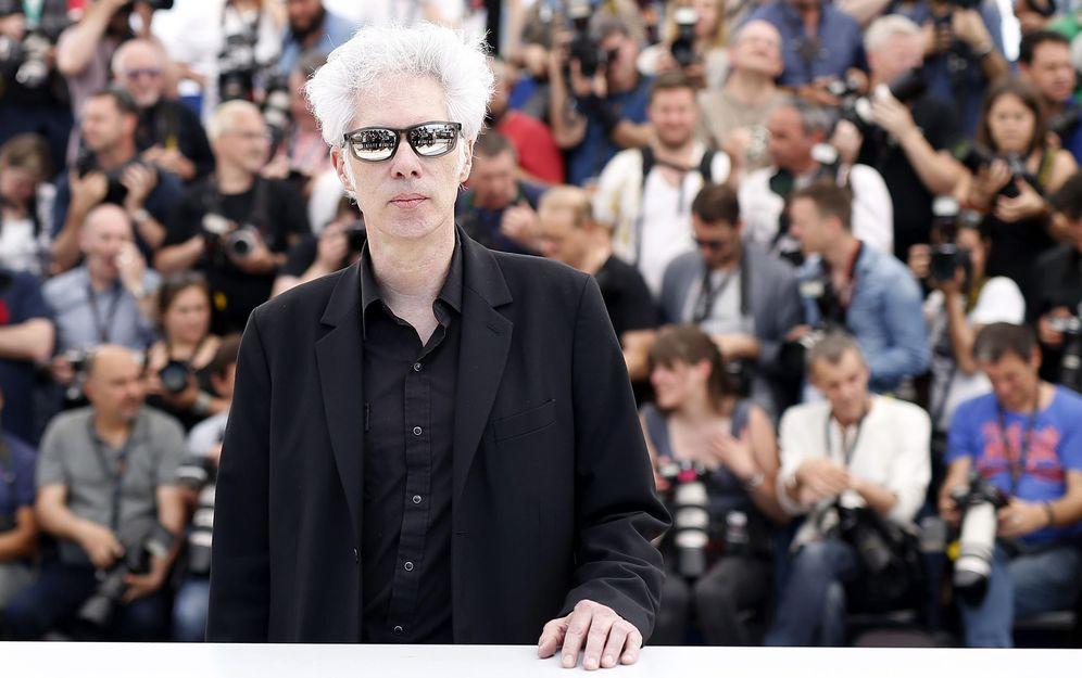 Foto: Jarmusch en Cannes durante el pase de 'Paterson'. Foto: S. Nogier/Efe