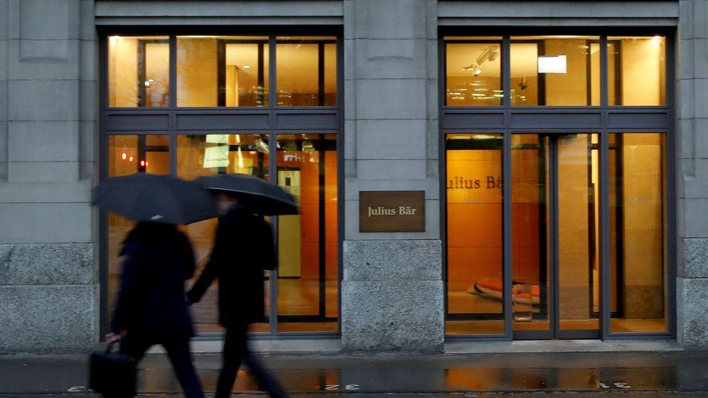 Foto: Oficina de Julius Baer en Zurich (Reuters)