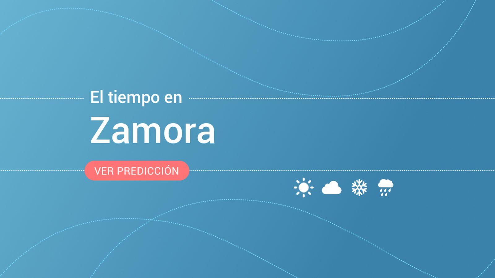 Foto: El tiempo en Zamora. (EC)