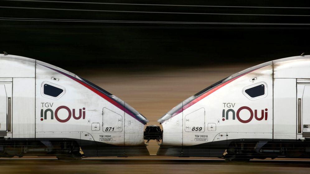 Foto: Trenes Ouigo, el AVE de bajo coste que SNCF opera en Francia. (EFE)