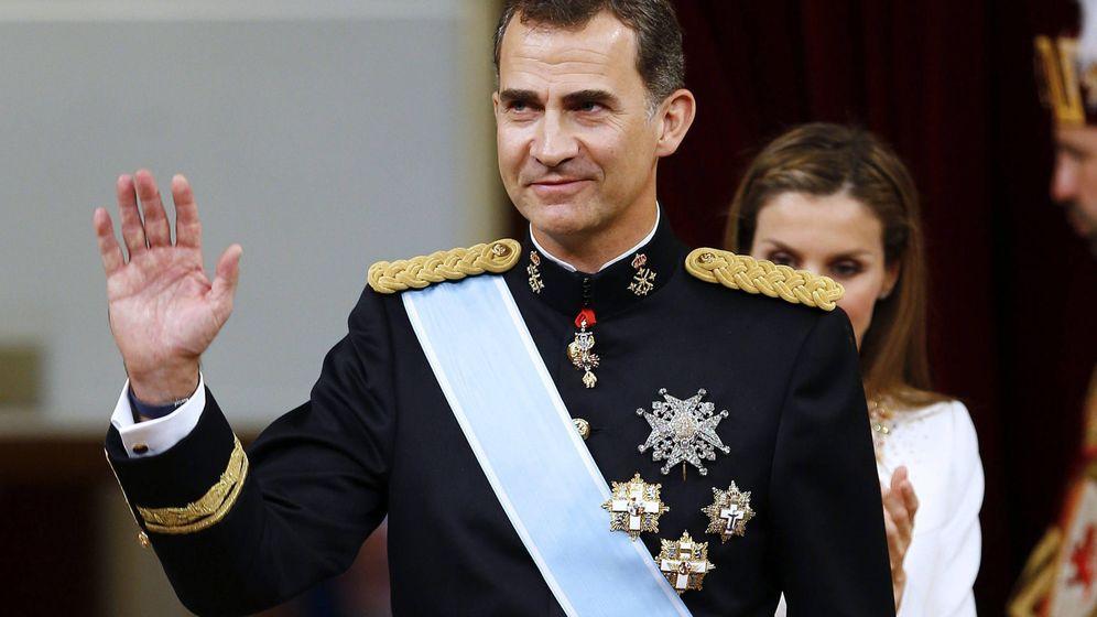 Foto: Felipe VI el día de su proclamación (Gtres)
