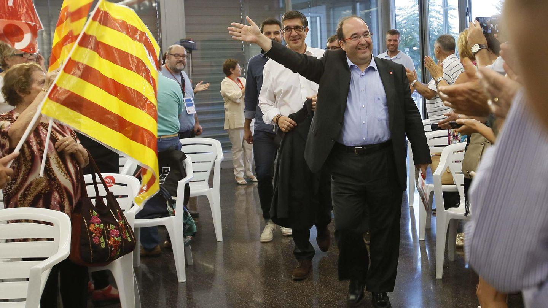 Patxi López y Miquel Iceta en una imagen de archivo. (EFE)