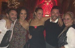 La peculiar fiesta de Paco León por su cumpleaños junto a su 'troupe'