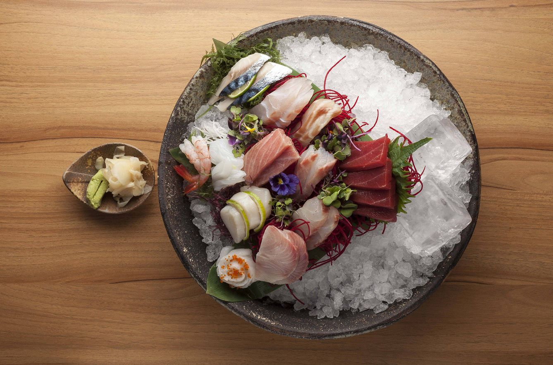 Foto: Sashimi japonés. De verdad