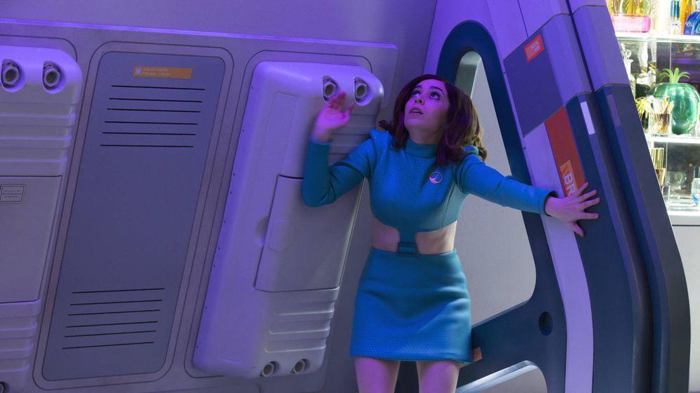 Foto: Christin Milloti en una secuencia del episodio titulado 'U.S.S Callister'. (Netflix)