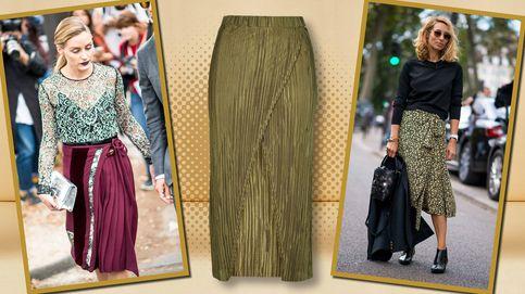 La nueva prenda estrella de la temporada es un falda, se llama wrap y se lleva así