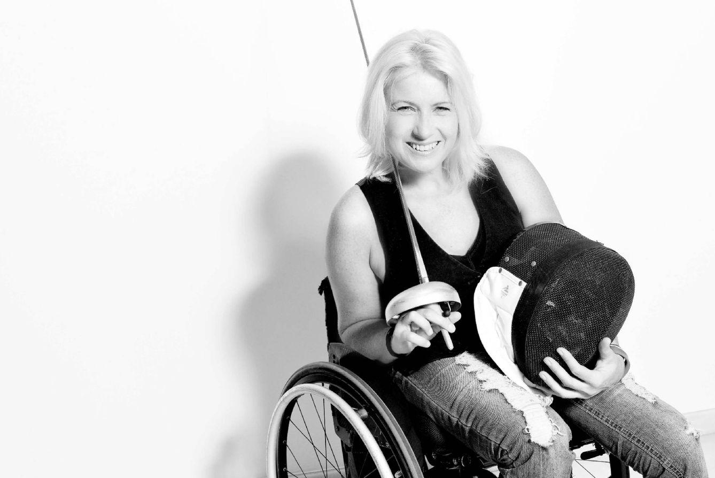 Foto: La medallista paralímpica Gema Hassen-Bey sale del armario