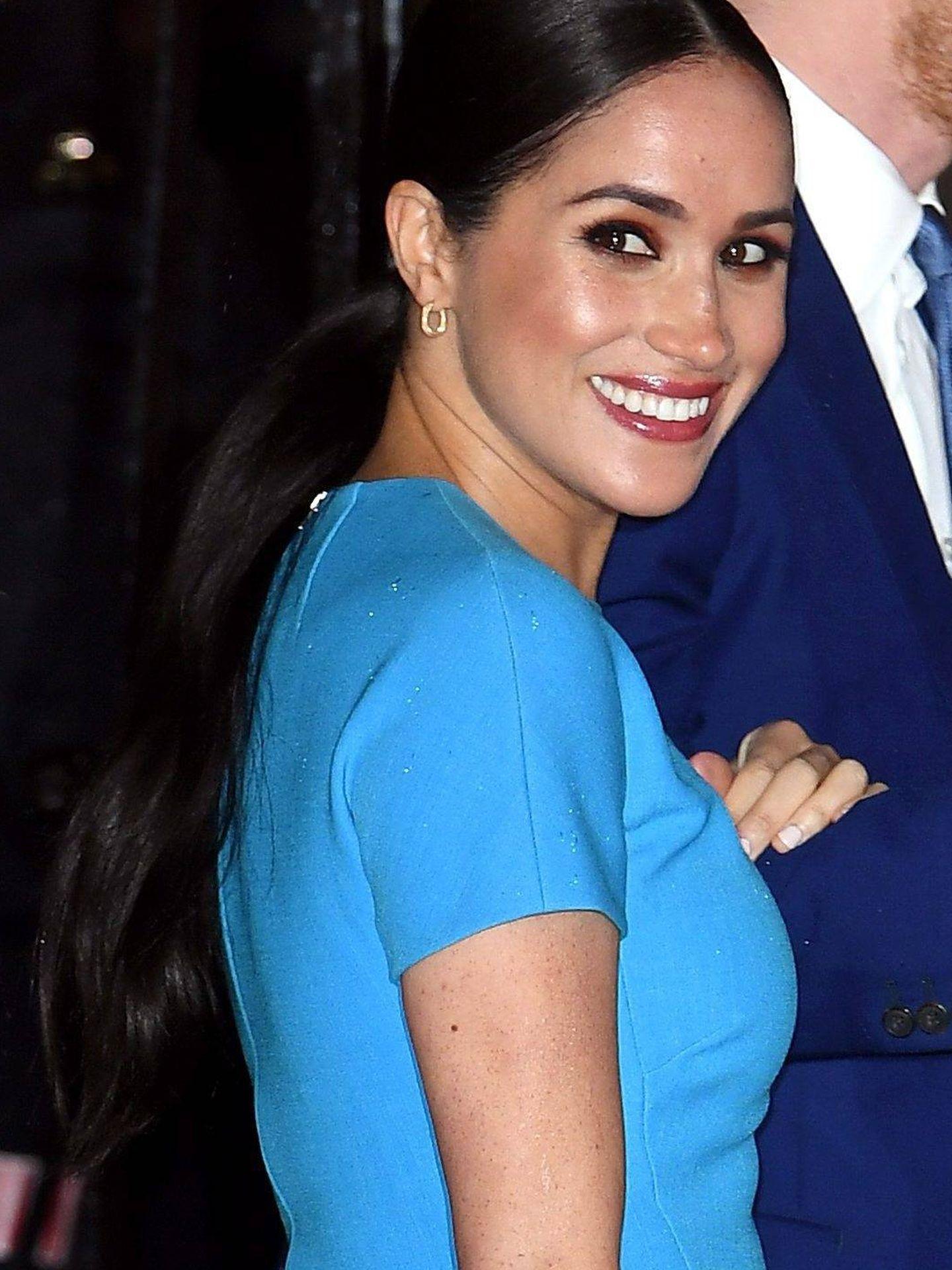 Detalle del look beauty de Meghan Markle. (Cordon Press)
