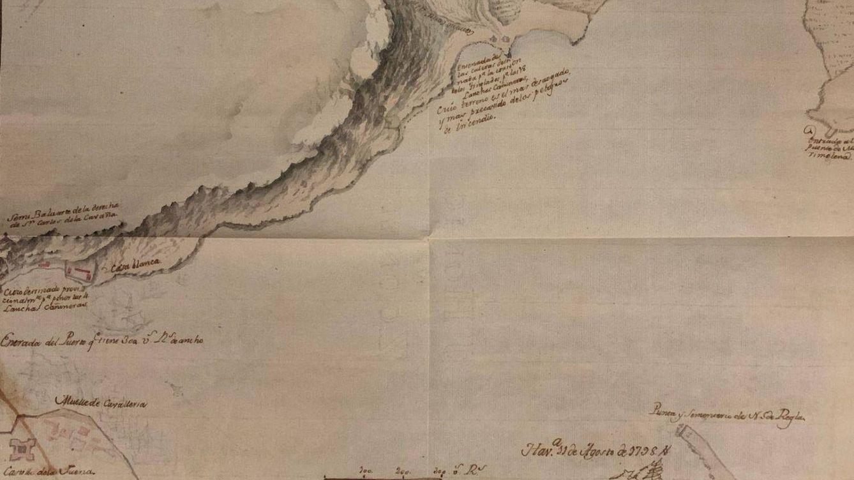 El mapa inédito de la bahía de La Habana de 1798: España, preparada ante el ataque inglés