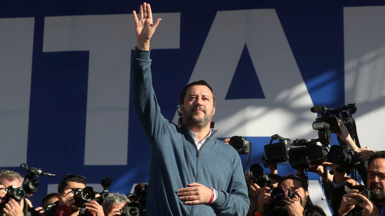 Matteo Salvini. (Reuters)