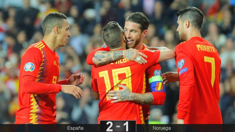 Foto: España comenzó con victoria su camino hacia la Eurocopa 2020. (Reuters)